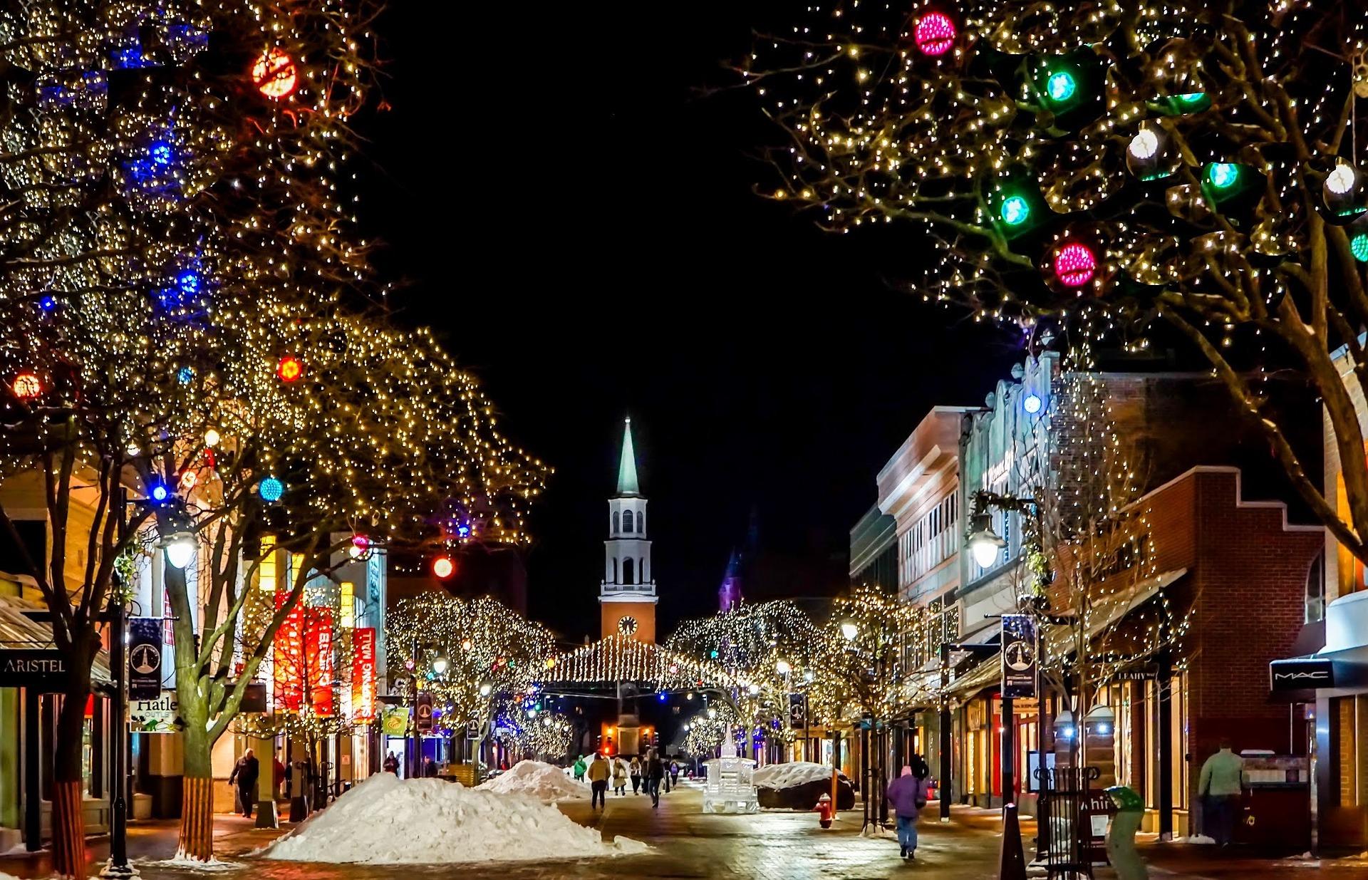 Božični sejmi v bližini 2018