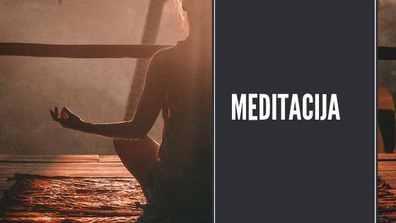O meditaciji na kratko