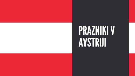 Prazniki v Avstriji 2019