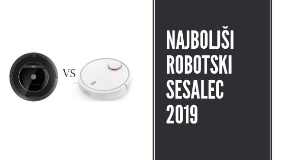 Robotski sesalci 2019