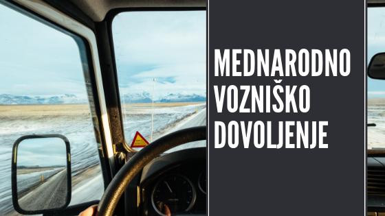 Mednarodno vozniško dovoljenje