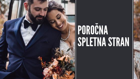 spletna stran za vajino poroko