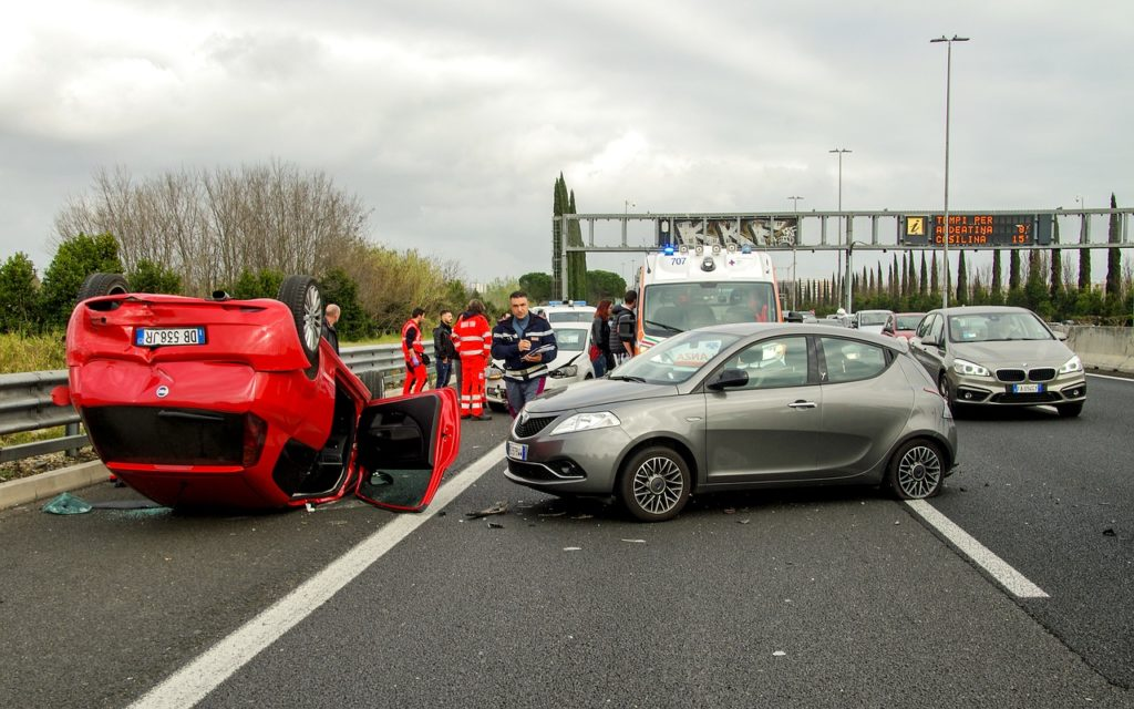 avtomobilska prometna nesreča