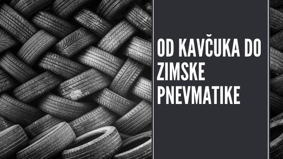 Proces od kavčuka do zimske pnevmatike