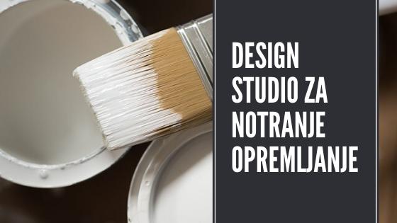 design studio za notranje opremljanje