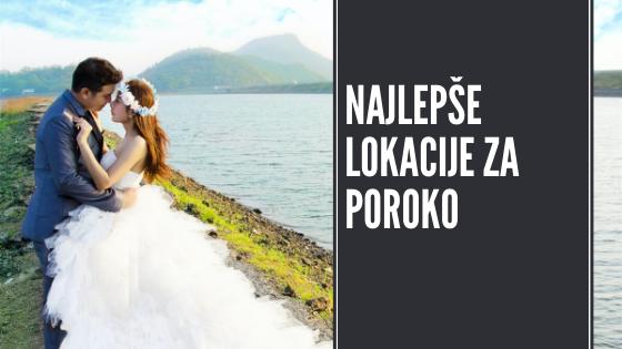 9 top lokacij za poroko